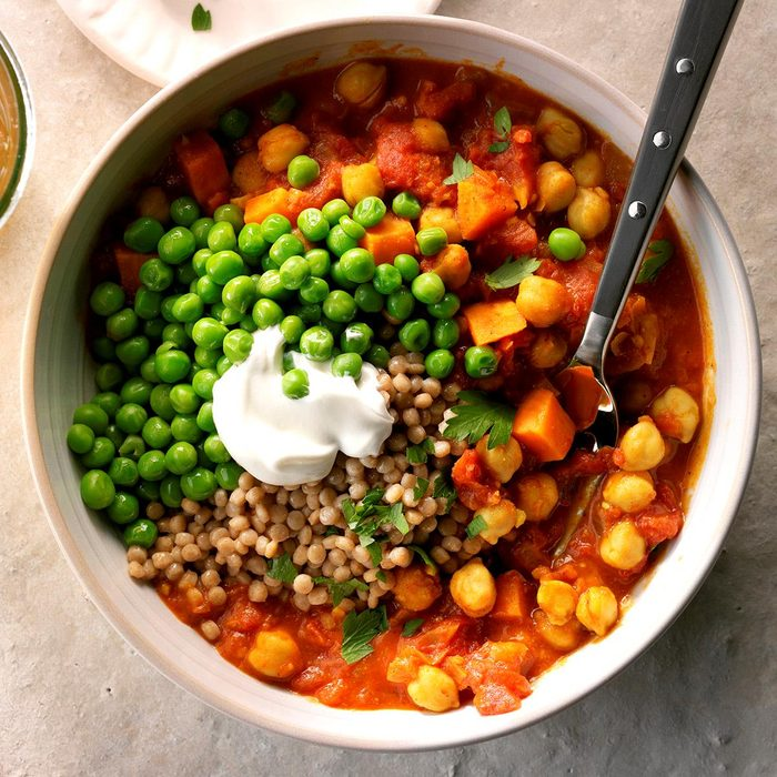 Day 5 Dinner: Quickpea Curry