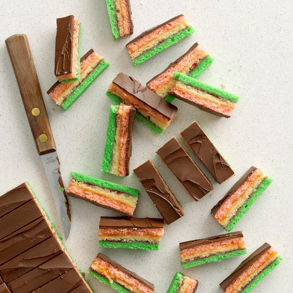 Expert Baker: Rainbow Cookies