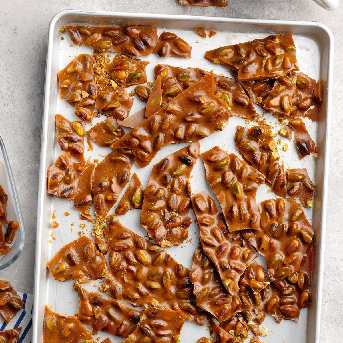 Rich Pistachio Brittle