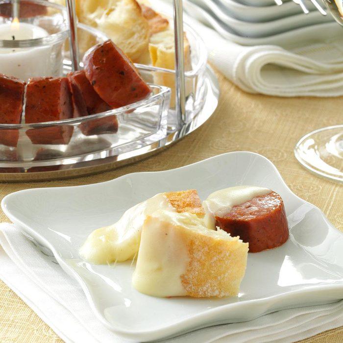 Riesling and Swiss Cheese Fondue