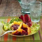Roasted Beet-Orange Salad