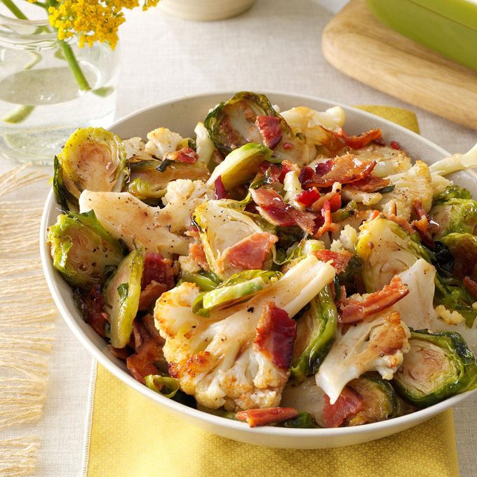 Roasted Cauliflower Brussels Sprouts With Bacon Exps89821 Sd132779c06 11 4bc Rms 6
