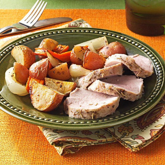 Roasted Pork Tenderloin and Vegetables