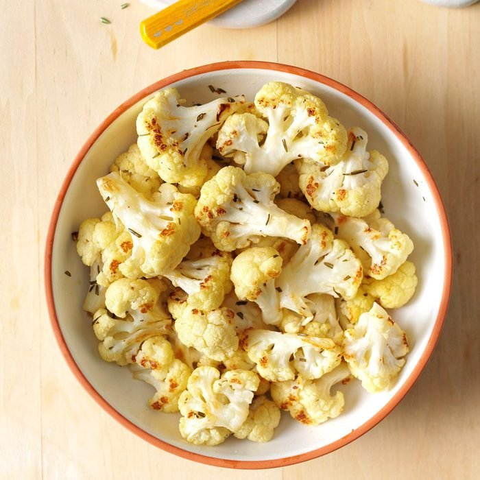 Roasted Rosemary Cauliflower
