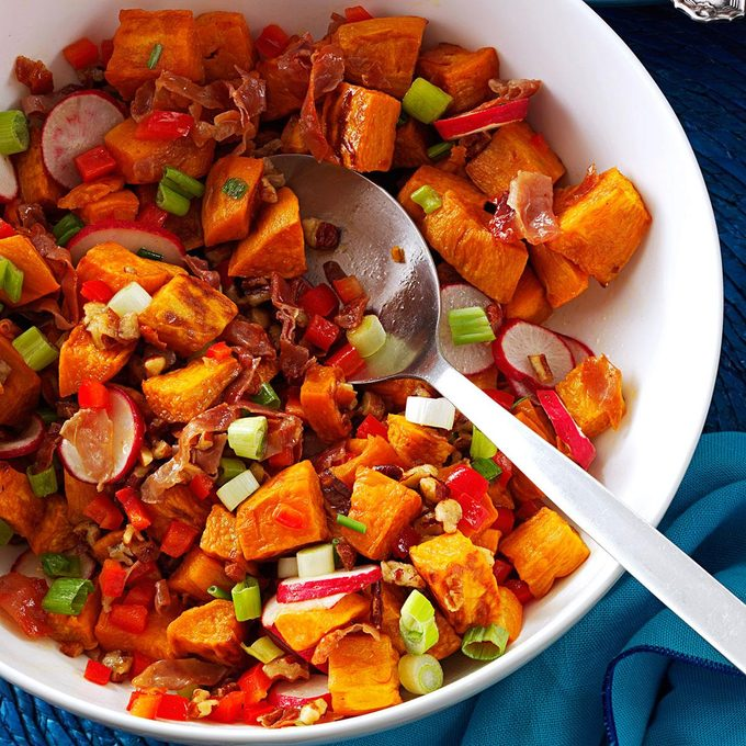 Roasted Sweet Potato Prosciutto Salad Exps125109 Th132104a06 28 3bc Rms 6