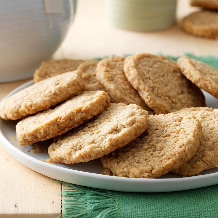 Rolled Oat Cookies