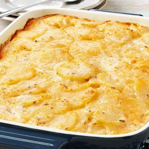 Rosemary Au Gratin Potatoes