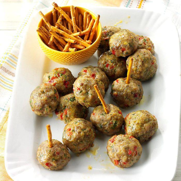 Rosemary Sausage Meatballs Exps Hc17 77210 D10 21 7b