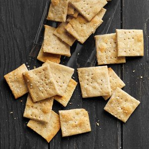 Rosemary Wheat Crackers