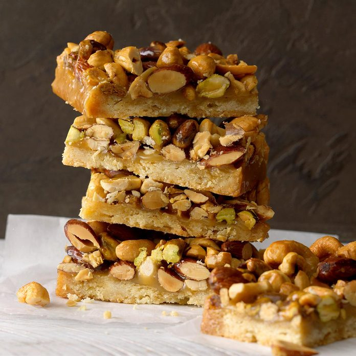 Rustic Nut Bars
