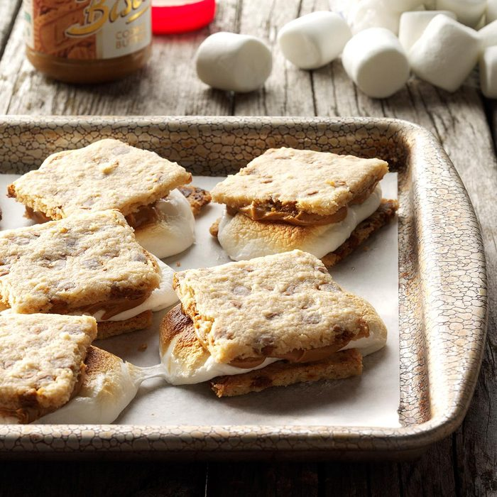 Smookies on a baking sheet