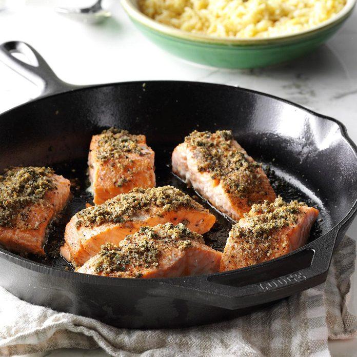 Sage-Rubbed Salmon