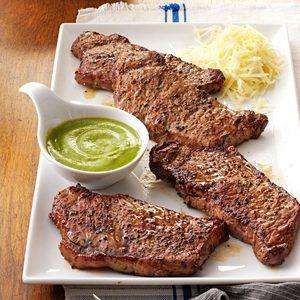 Santa Fe Strip Steaks