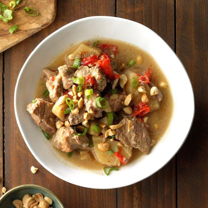 Satay-Style Pork Stew