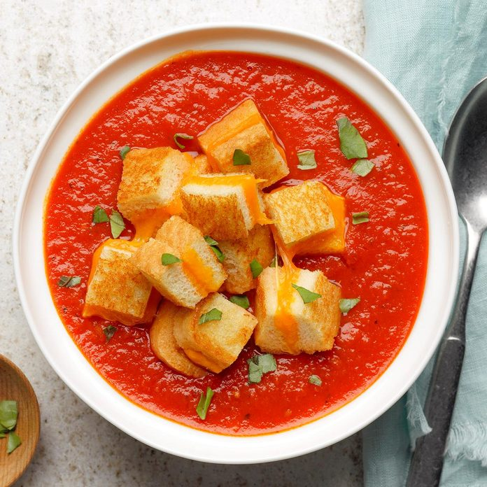November: Satisfying Tomato Soup