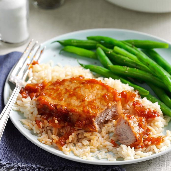 Saucy Chinese Pork Chops