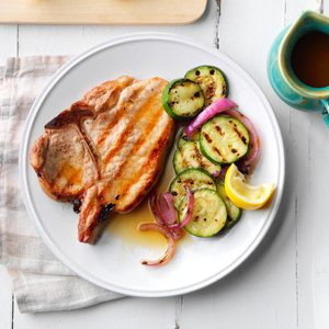 Saucy Grilled Pork Chops