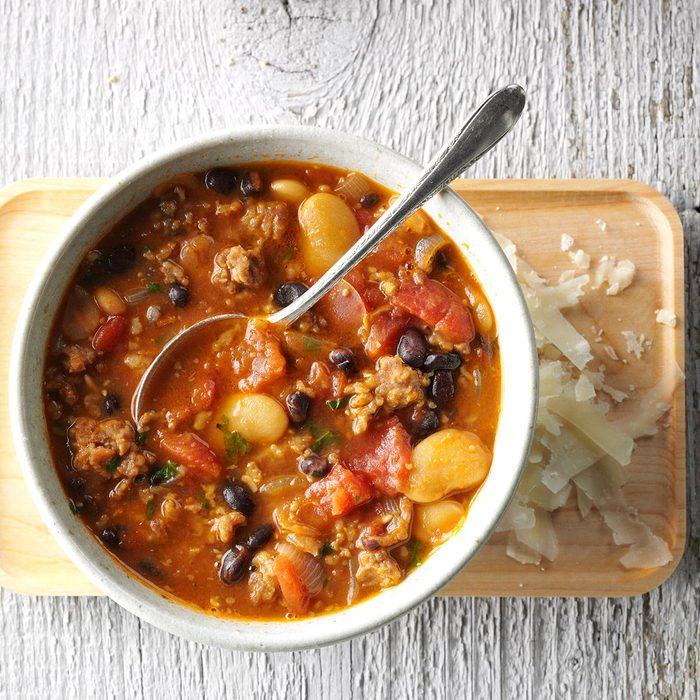 Day 23: Sausage Bean Soup