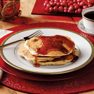 Sausage Cranberry Pancakes