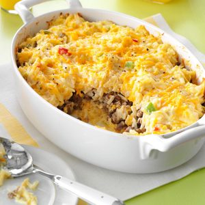 Sausage Hash Brown Bake