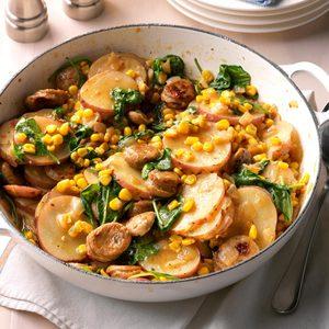 Sausage & Vegetable Skillet Dinner