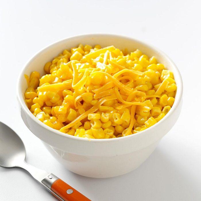 Sauteed Corn with Cheddar