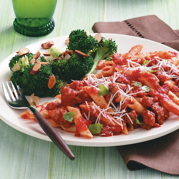 Savory Sausage Penne Supper