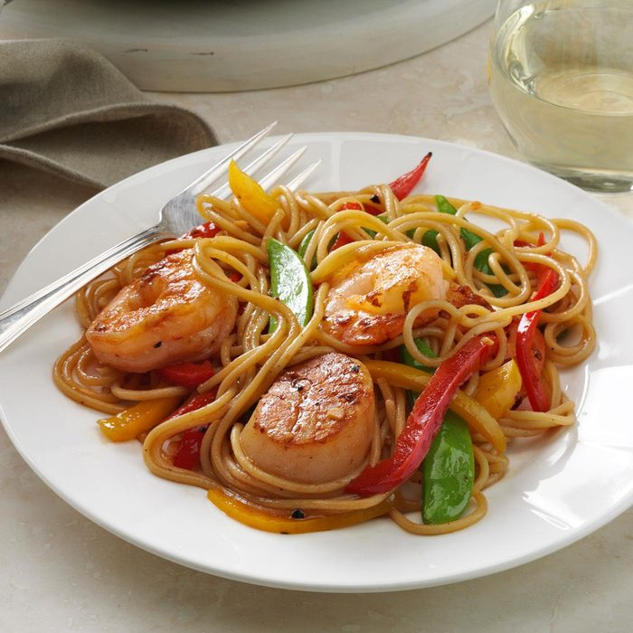 Seafood Pasta Delight