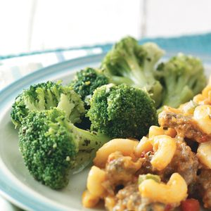 Seasoned Broccoli Spears for Two