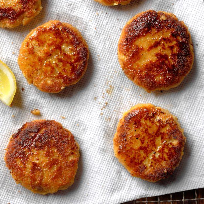 Seasoned Crab Cakes