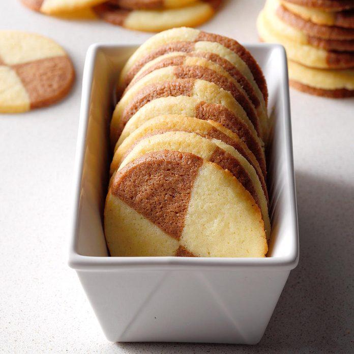 Semisweet Chocolate Pinwheel Cookies