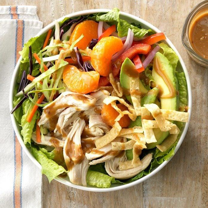 Georgia: Sesame Chicken Slaw Salad