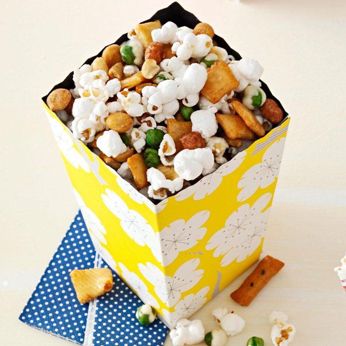 Sesame-Ginger Popcorn