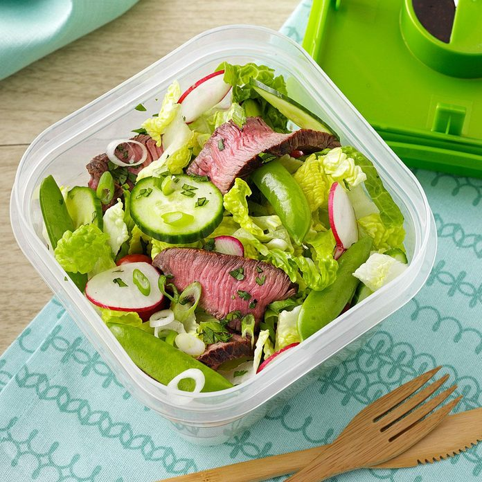 Sesame-Ginger Steak Salad