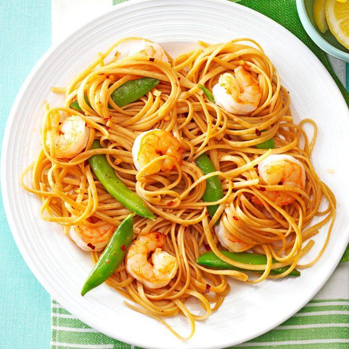 Sesame Noodles With Shrimp Snap Peas Exps165661 Th132767c04 24 1bc Rms