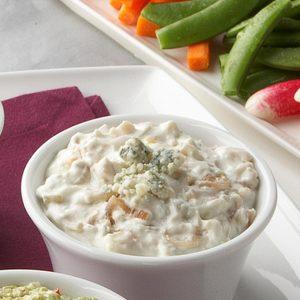 Shallot-Blue Cheese Dip