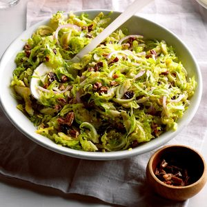 Shaved Brussels Sprout Salad