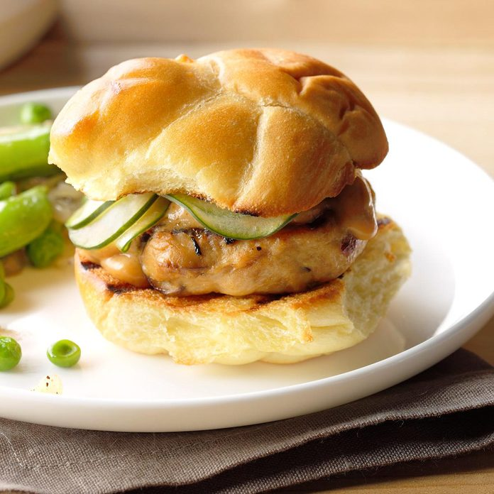 Shiitake-Chicken Sliders