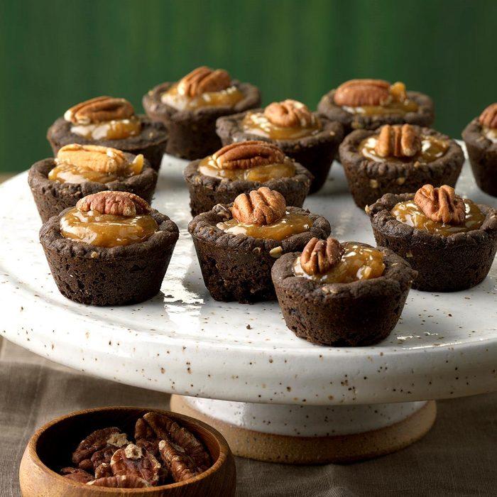 Shortcut Coconut-Pecan Chocolate Tassies