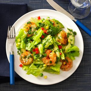 Shrimp & Avocado Salads