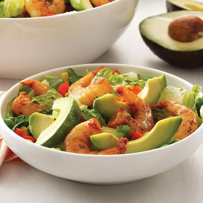 Shrimp Salad with Cilantro Dressing