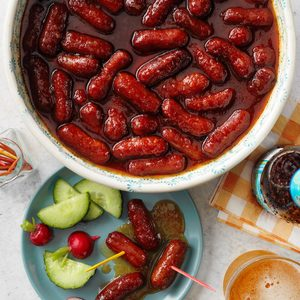 Simmered Smoked Links