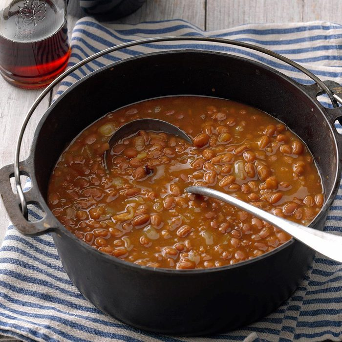 Simple Maple Baked Beans