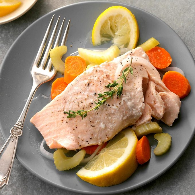 Start With: Simple Poached Salmon