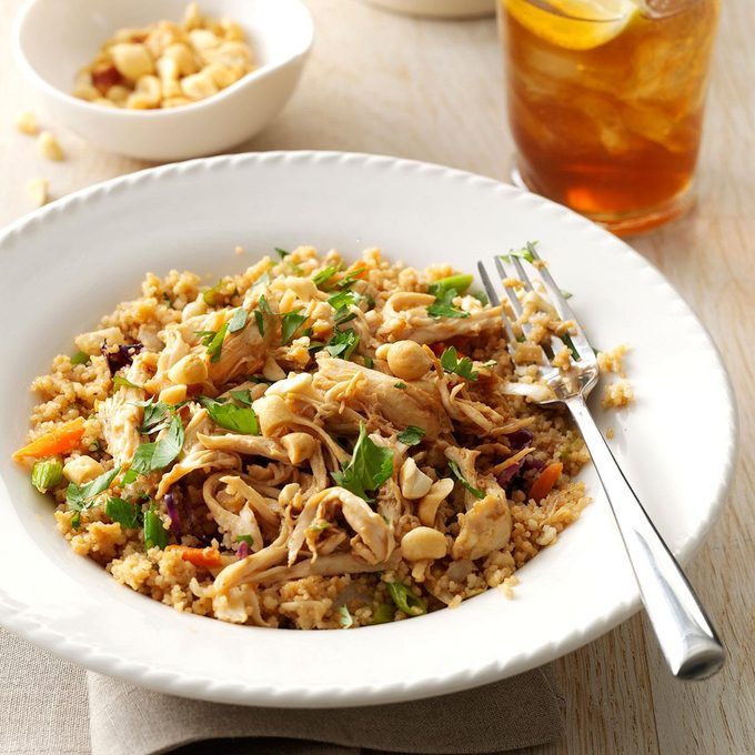 Simple Sesame Chicken With Couscous Exps153236 Sd143203c10 25 1bc Rms 7