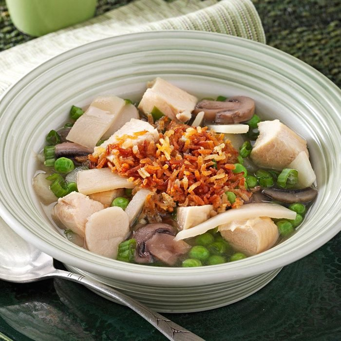 Sizzling Rice Soup