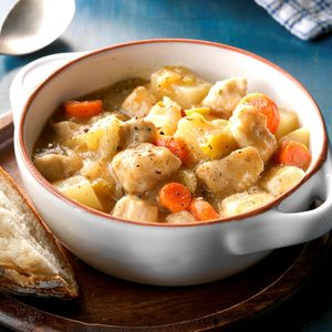 Skillet Chicken Stew
