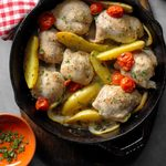 Skillet-Roasted Lemon Chicken with Potatoes