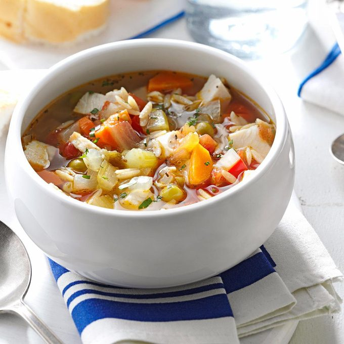 Skinny Turkey-Vegetable Soup