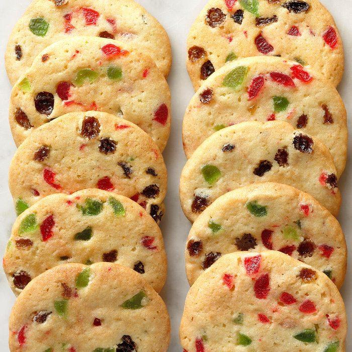 Slice 'n' Bake Fruitcake Cookies